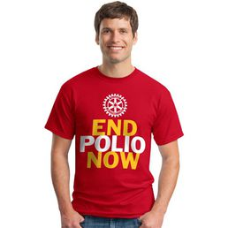 End Polio Now T-skjorta