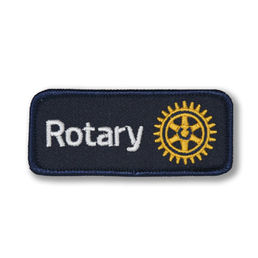Rotary International -tygmärke